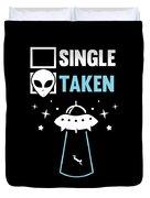 Alien Ufo Single Gift Duvet Cover