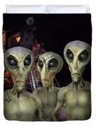 Alien Vacation - Kennedy Space Center Duvet Cover