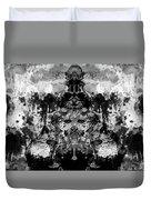 Aliena - Monochromatic Duvet Cover
