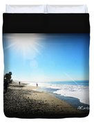 Aliso Viejo Beach Duvet Cover