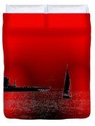 Alki Sail 4 Duvet Cover