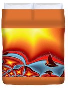 Alki Sail Under The Sun 2 Duvet Cover