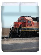 All Aboard 2390 Duvet Cover