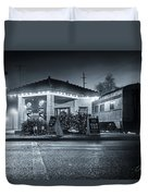 All Aboard The Fog Express Duvet Cover