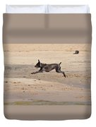 All Four Off The Ground Duvet Cover