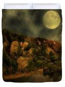 All Hallows Moon Duvet Cover