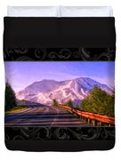 All Roads Lead To The Mountain Duvet Cover
