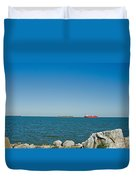 All Ships At Sea Duvet Cover