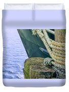 All Tied Up In Port Jefferson No 1 Duvet Cover