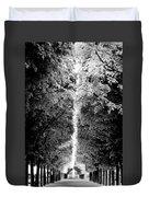 Allee_des_arbres Duvet Cover