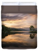 Allegany Sunset Duvet Cover