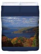 Allegheny National Forest Lake  Duvet Cover