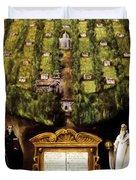 Allegory Of Camaldolese Order 1600 Duvet Cover