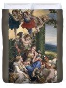 Allegory Of The Virtues Duvet Cover