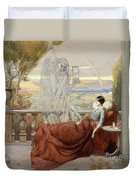 Allegory Of Tuberculosis, 1912 Duvet Cover