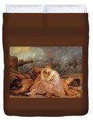 Allegory Of War Duvet Cover