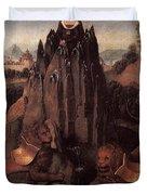 Allegory With A Virgin 1479 80 Hans Memling Duvet Cover