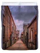 Alley A At Dawn Duvet Cover