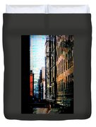 Alley Abstract #2 Duvet Cover