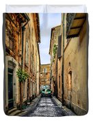 Alley In Avignon Duvet Cover
