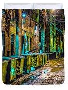 Alley In Uptown Chicago Dsc2687 Duvet Cover