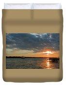 Alliance Sunset Sail Duvet Cover