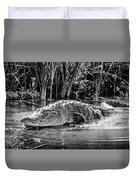 Alligator Bags Of Port Aransas Duvet Cover