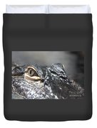 Alligator Eye Duvet Cover
