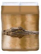 Alligator Head Duvet Cover