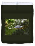 Alligator Hunting Duvet Cover