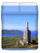 Allihies, Co Cork, Ireland Old Mine Duvet Cover