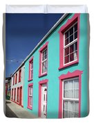 Allihies Streetscape West Cork Duvet Cover