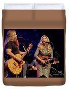 Allison Krauss With Jamey Johnson Duvet Cover