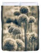 Allium 2 Duvet Cover