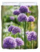 Allium 5 Duvet Cover