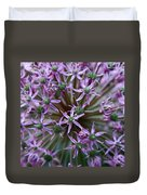 Allium Macro Duvet Cover