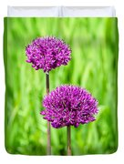 Alliums Duvet Cover