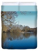 Alloway Lake - New Jersey - Usa Duvet Cover