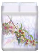 Almond Blossoms Duvet Cover