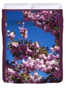 Almond Flowers Duvet Cover