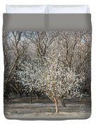 Almond Orchard 1 Duvet Cover