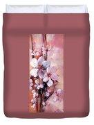 Almonds Blossom  12 Duvet Cover