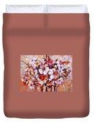 Almonds Blossom  5 Duvet Cover