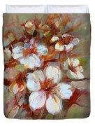 Almonds Blossom1 Duvet Cover