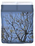 Almost Bare With Birds II Duvet Cover