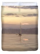 Almost Daytime On The Waters Duvet Cover