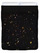 Almost Ten Thousand Galaxies As Seen By Hubble Duvet Cover