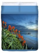 Aloe Vera Bloom Duvet Cover