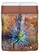 Aloe Vera In Meadow Duvet Cover