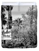 Aloha Hotel Bw Palm Springs Duvet Cover